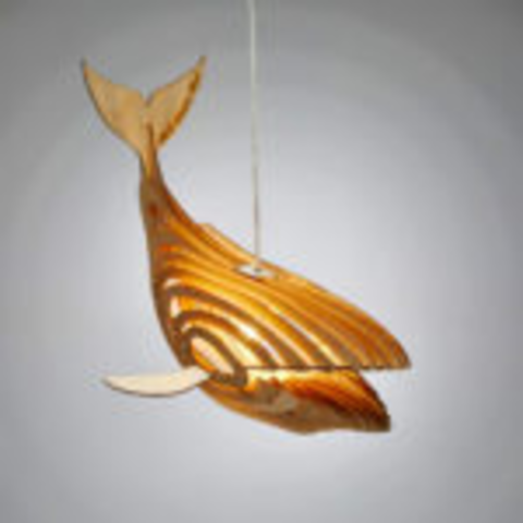 Whale Lamp #2