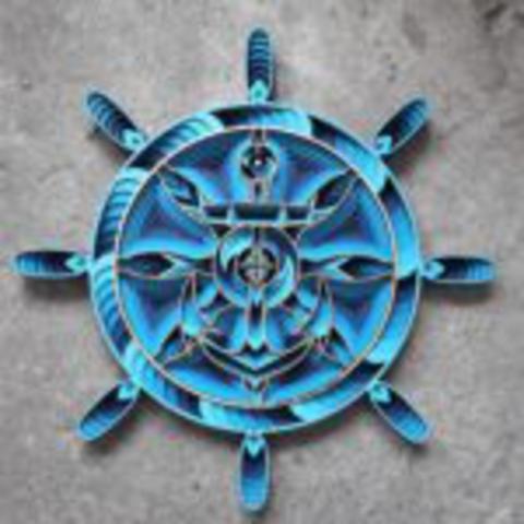 Rudder Blue #1 (small)