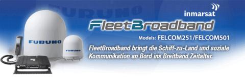 Neue Inmarsat Anlagen FELCOM251/501