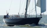 Aluminium sailingyacht Hutting 45