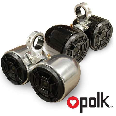POLK DOUBLE BARREL SPEAKERS (PAIR)