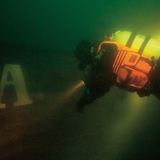 Jacket SEARCH TCB-25 in 40 m depth
