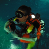 Seareq DIVETY attached to the corrugated tube close to the shoulder