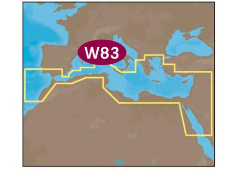 Elektronische Seekarten von C MAP