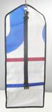 Kulturtaschen zum Aufhängen mit 3 Reißverschlussfächern