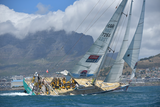 ICONIC HOST PORTS AROUND THE WORLD - After racing across one of the world's inhospitable oceans, the teams receive an emotional welcome in port