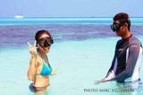 Free diving Maldives