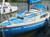 nautideck blau auf kundenboot