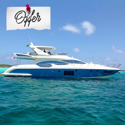 Azimut 70 yacht share