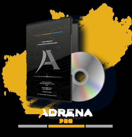 packaging Adrena pro white