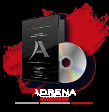 packaging Adrena standard white