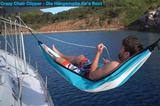 Hängematte CLIPPER auf der Segelyacht