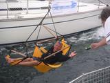 CrazyChair Segelboot