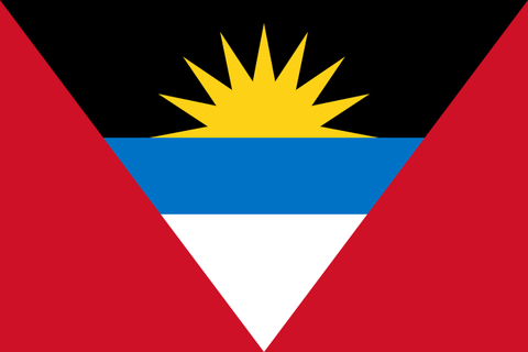 ANTIGUA & BARBUDA COURTESY FLAG