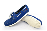 First PU Blue Boat Shoe (Woman)