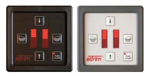elTrim Automatic mit automatischem Krängungsausgleich und Stellungsanzeige