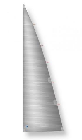 Rollbaum-Großsegel