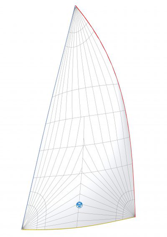 Racing Asymmetrische Spinnaker