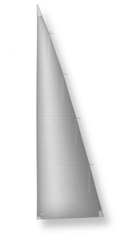 Rollmast-Großsegel