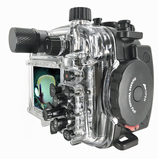 Sony RX100 VA + Fantasea FRX100 housing with vacuum system - back