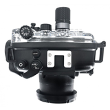 Sony RX100 VA + Fantasea FRX100 housing with vacuum system - top
