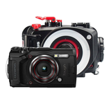 Olympus TG-6 schwarz super makro taucher kit