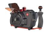 Hugyfot Vision Xs housing for GoPro HERO7/6/5 - side