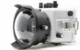 Canon EOS 250D + 18-55 STM + Ikelite housing + port - side