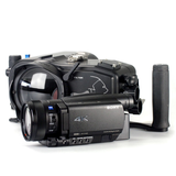 Sony AX700 with Gates housing and SP34A port