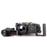 Sony AX700 with Gates housing and SP34A port - 2