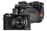 Canon Powershot G7X Mk III + Nauticam housing set