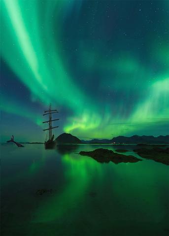 arktische abendteuer