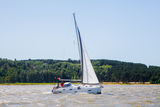 Sailing on the Curonian Lagoon