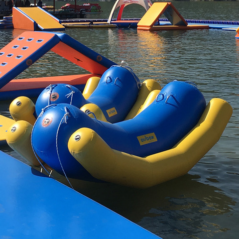 Air inflatable See-saw