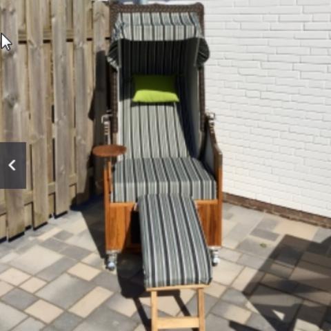 1-Sitzer Strandkorb