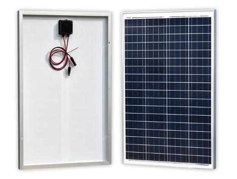 100W Polysilizium Solarpanel