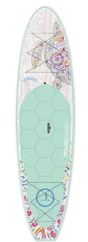 YOLOBOARD ORIGINAL SUGAR SKULL WHITE TURTLE