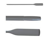 Wood oars Gray paint