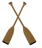 Wood Canoe Paddle s2