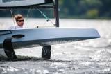 8kn Bootsgeschwindigkeit reichen aus um das Boot aus dem Wasser zu heben