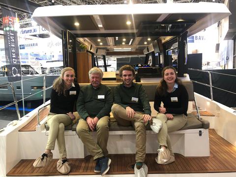 Familie Poorting Boot Düsseldorf 2019