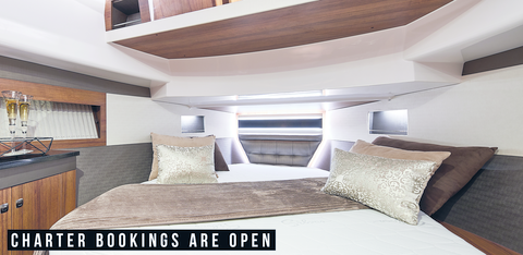 Charter bookings are open