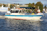 Motorbootfahren (lernen) in Hamburg auf der Elbe