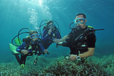 Diving with kids