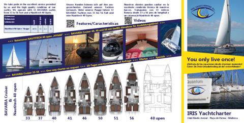 Flyer IRIS Yachtcharter