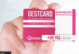Gestcard for pedestrians and vehicles