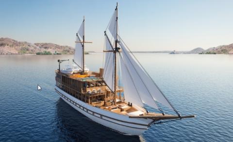 Elobi pinisi ship